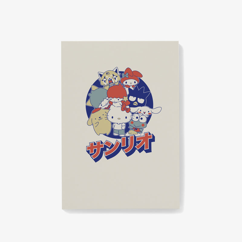 Sanrio Group Japanese Logo Notepad
