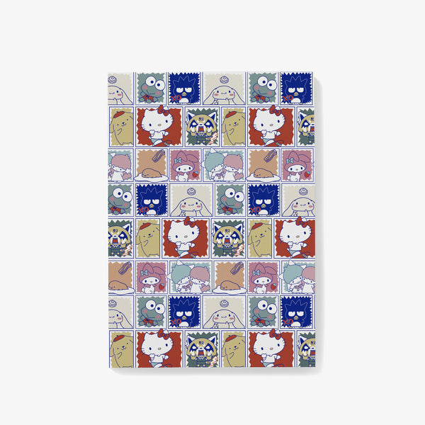 Sanrio Characters Pattern Notepad