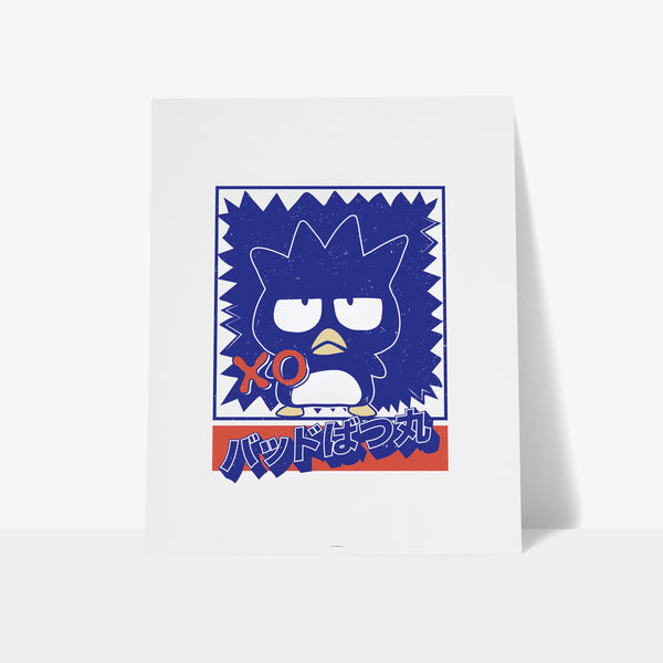 Bad Badtz-Maru Japanese Graphic Art Print