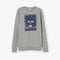 Bad Badtz-Maru Japanese Graphic Premium Organic Cotton Grey Sweatshirt