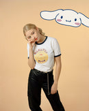 Pompompurin Japanese Graphic Ringer T-Shirt