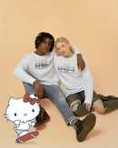 Cinnamoroll Japanese Graphic Premium Organic Cotton White Sweatshirt