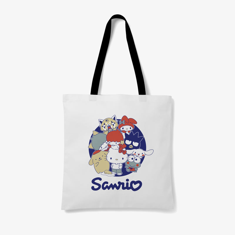 Sanrio Group Japanese Logo Tote Bag