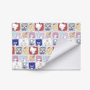Sanrio Characters Pattern Wrapping Paper