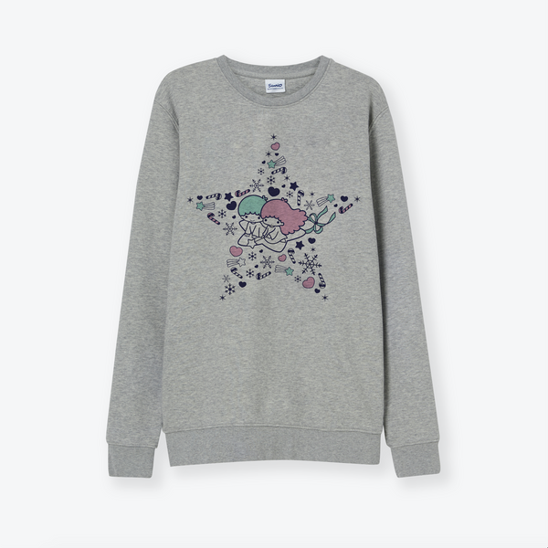 Little Twin Stars Festive Sweatshirt - Premium Organic Cotton