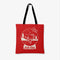 Hello Kitty Snow Globe Festive Tote Bag - Red
