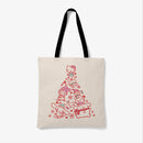 Sanrio Christmas Tree Festive Tote Bag
