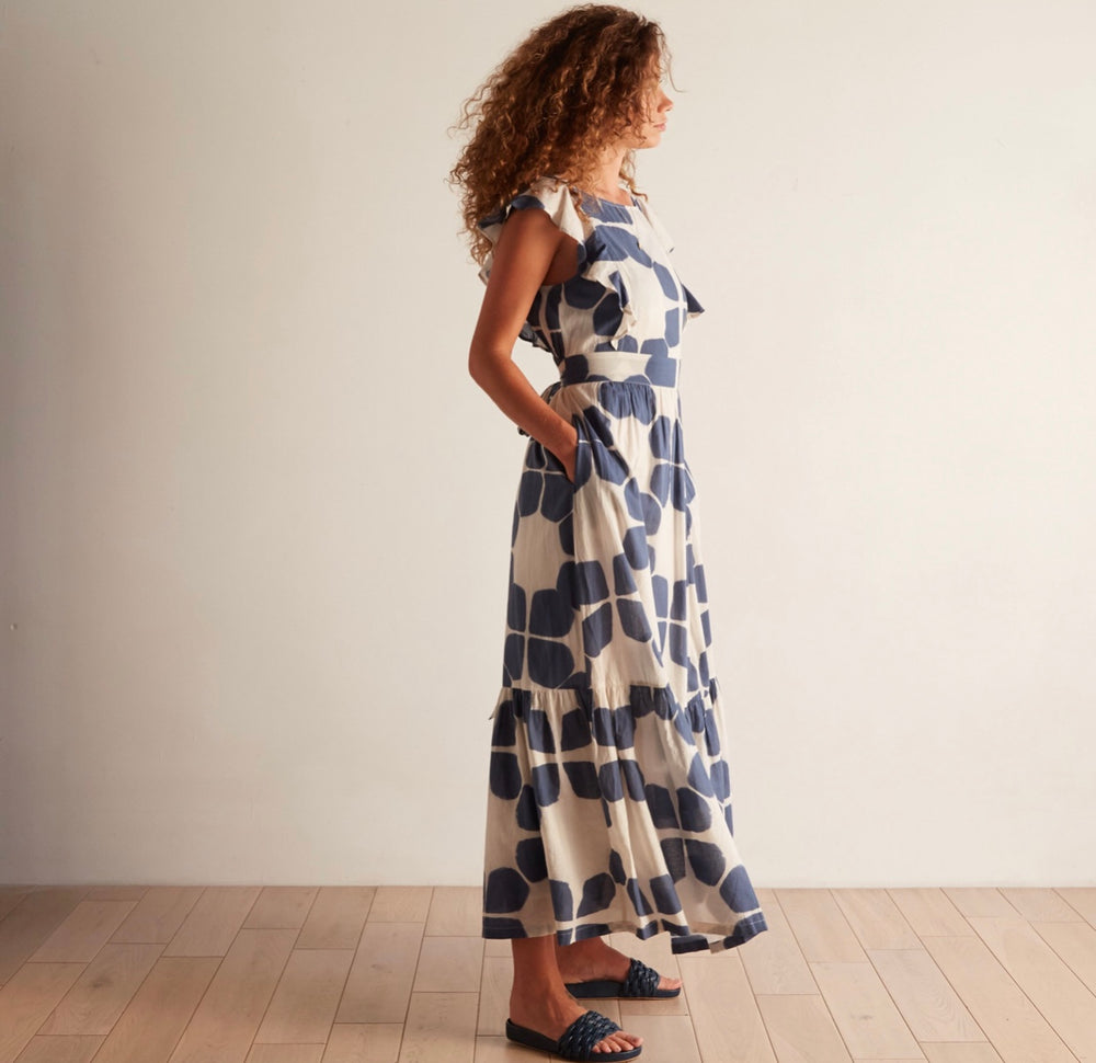 Odells Ruffle Maxi Dress