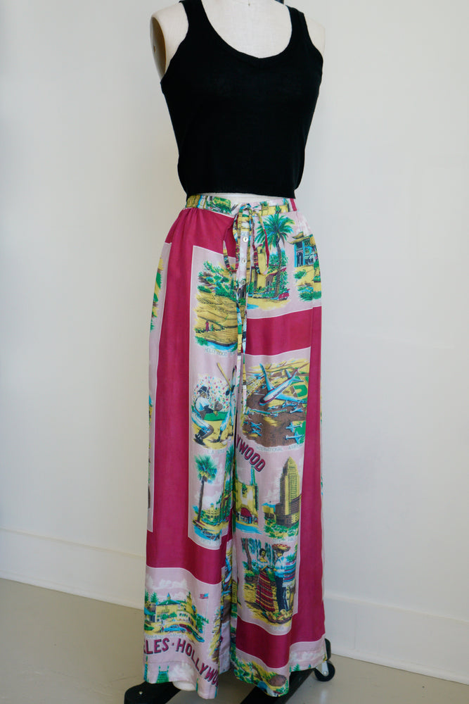 Burning Torch wide leg pants