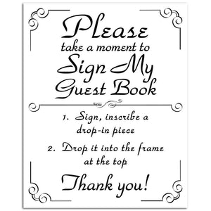 Deluxe Guest Book Sign