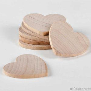 Set of 25 Extra Hearts for Guest Books