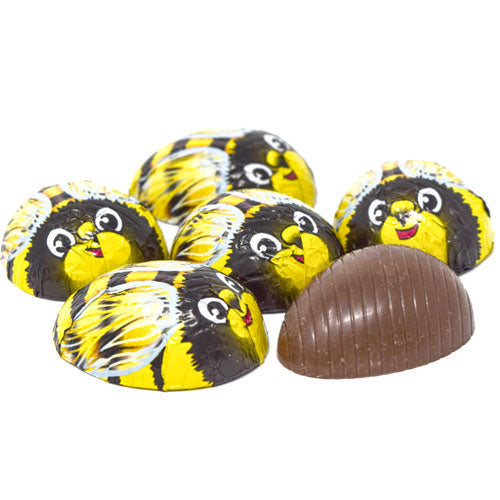 Foil Bumble Bee Milk Chocolate
