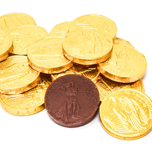 Gold Coins Milk Chocolate 20 pc