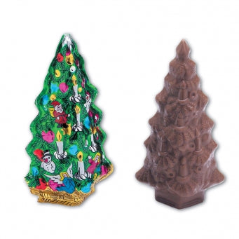 Foiled Milk Chocolate Tree 2.5 oz