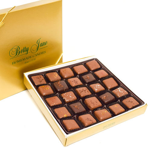Truffle Assortment Gold Holiday Box 1 lb