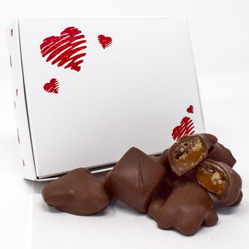 Valentine Milk Chocolate Gremlin/Caramel 5 oz