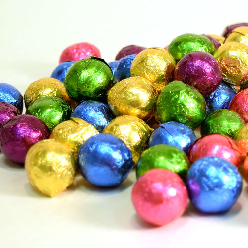 Dark Chocolate Foiled Mini Balls