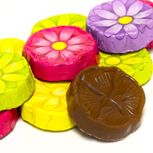 Milk Chocolate Daisies