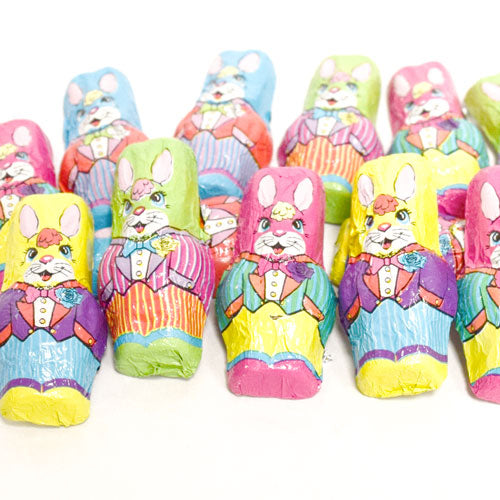 Milk Chocolate Mini Rabbits