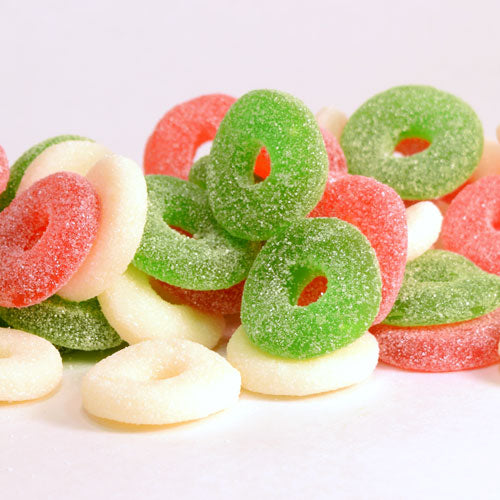 Gummy Christmas Wreaths