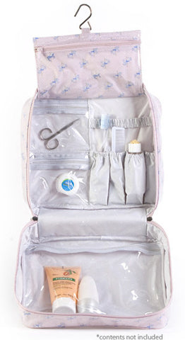 Carousel Hanging Toiletry Bag Open