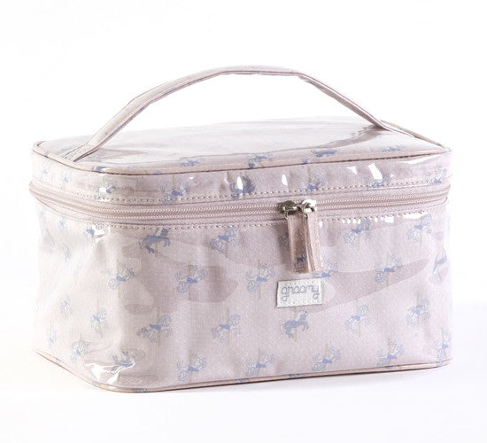 Carousel Travel Case Toiletry Bag