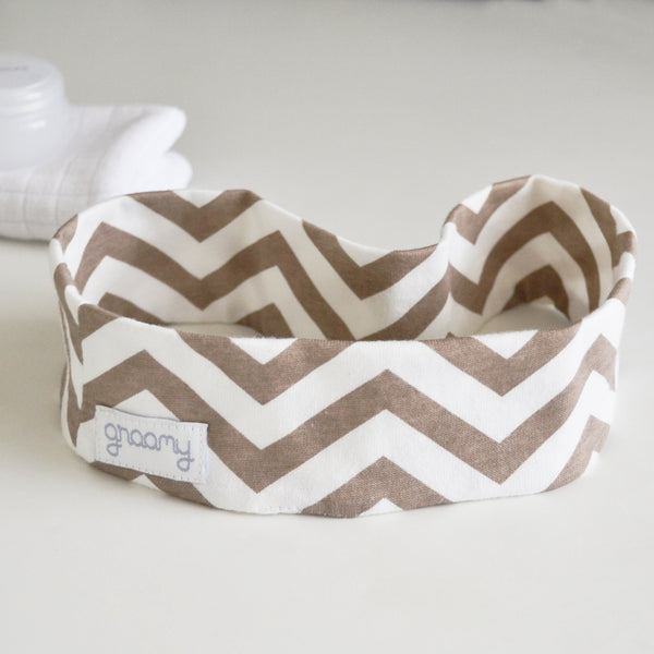 Face Washing Headband - Chevron