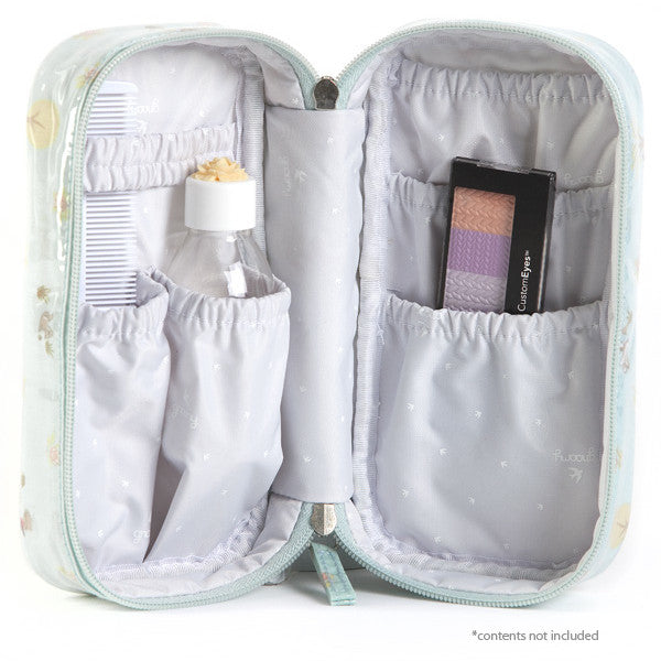 Woodland Overnight Toiletry Bag Open