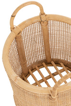 Load image into Gallery viewer, Basket rattan with handles set of 2