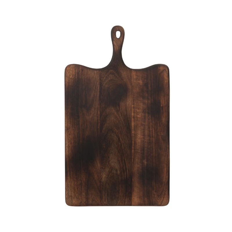 Dark woord cutting board