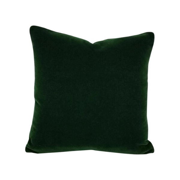 Green velvet cushion cover - Zetuké Home Decor