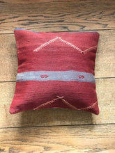 Load image into Gallery viewer, Kilim pillow Mstari - Zetuké Home Decor