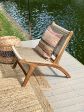 Load image into Gallery viewer, Teak lounge chair viro seat