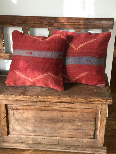Kilim pillow Rose - Zetuké Home Decor