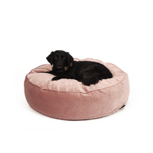 Load image into Gallery viewer, Dog pillow velvet pink - Zetuké Home Decor