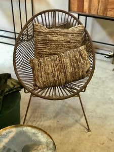 Egg chair brown - Zetuké Home Decor