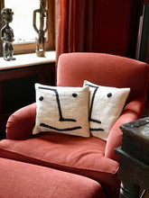 Load image into Gallery viewer, Pillow with smiley face - Zetuké Home Decor