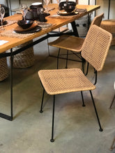 Load image into Gallery viewer, Rattan dining chair - Zetuké Home Decor
