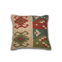 Load image into Gallery viewer, Kilim pillow Cubicles
