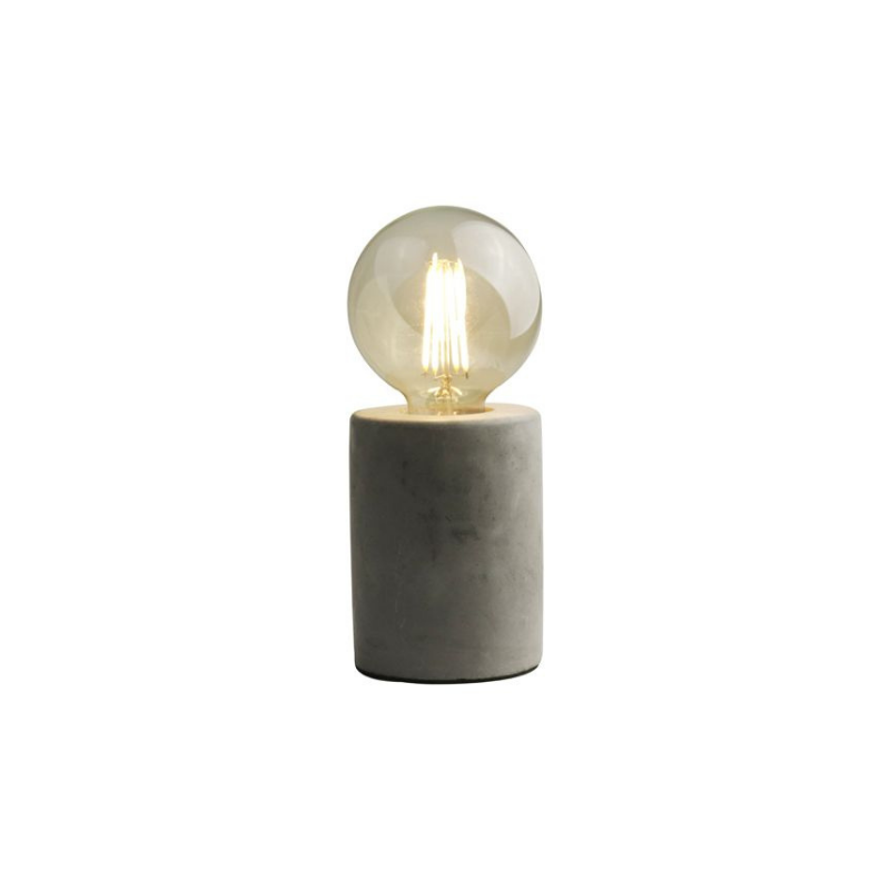 Table lamp concrete