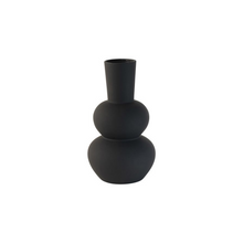 Load image into Gallery viewer, Black vase sphere design