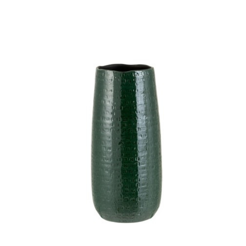 Green vase ceramic large