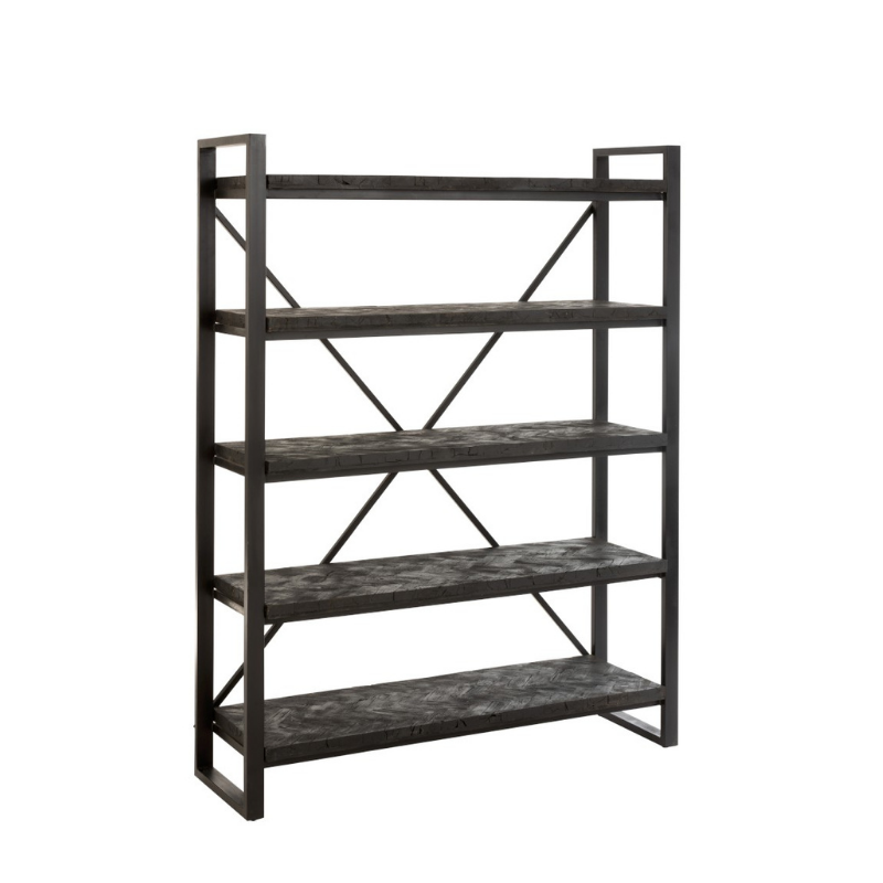 Rack wood black