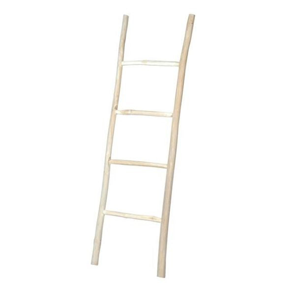 Wooden decorative ladder - Zetuké Home Decor