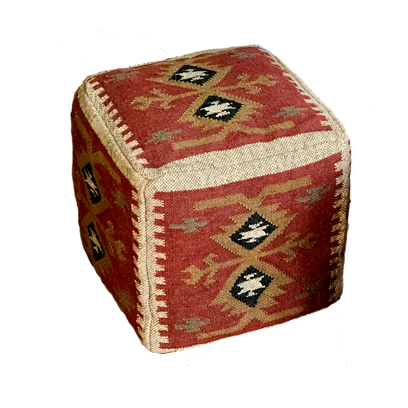 Zetuké pouf Mbili BUY IT ON KICKSTARTER - Zetuké Home Decor