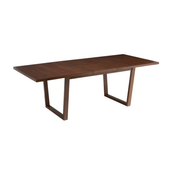 Dining table brown rectangular