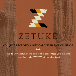 Gift Card Zetuké - Zetuké Home Decor