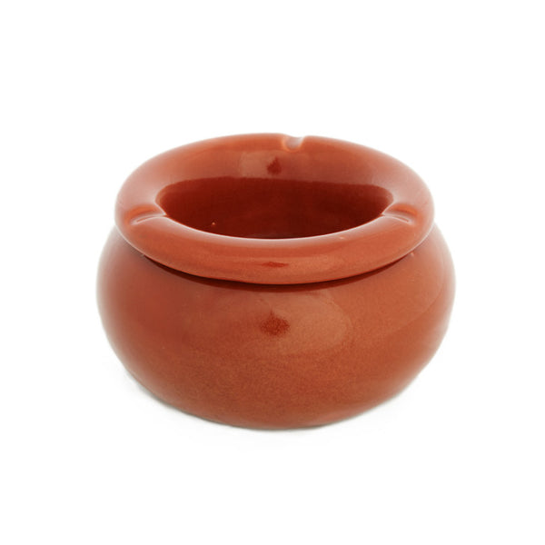 Red ceramic ashtray - Zetuké Home Decor