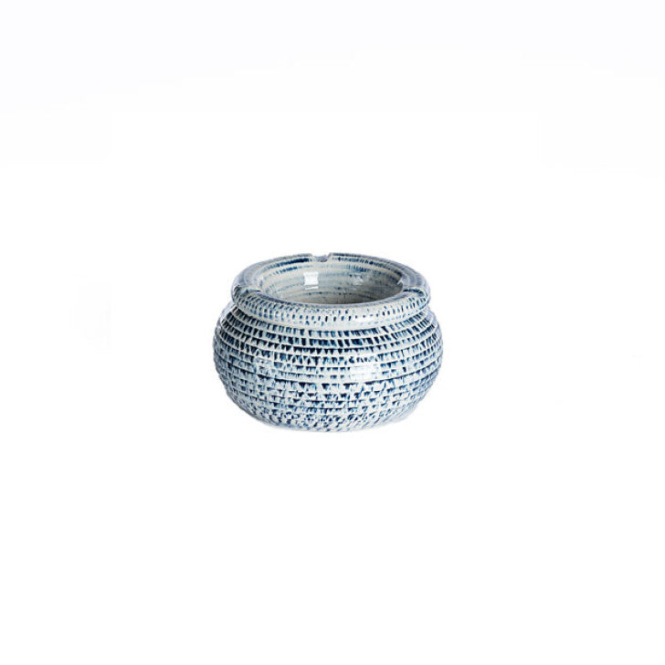 Blue dolomite ashtray - Zetuké Home Decor