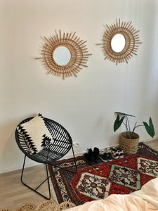 Rattan mirror - Zetuké Home Decor